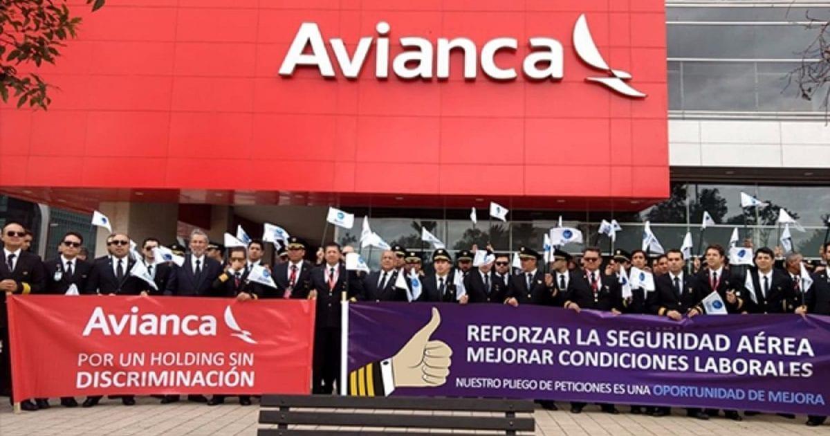 Avianca le ganó de nuevo la batalla legal a pilotos que fueron a huelga