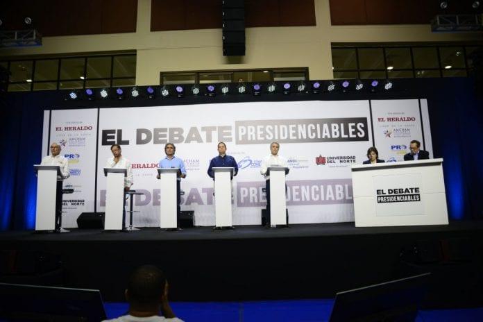 Los candidatos que marcan tendencia en Google