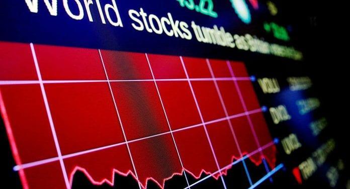 Índice Dow Jones cae 400 puntos afectado por temores de guerra comercial