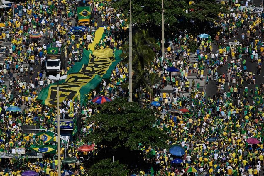Bolsonaro registra la peor evaluación en 6 meses de gobierno