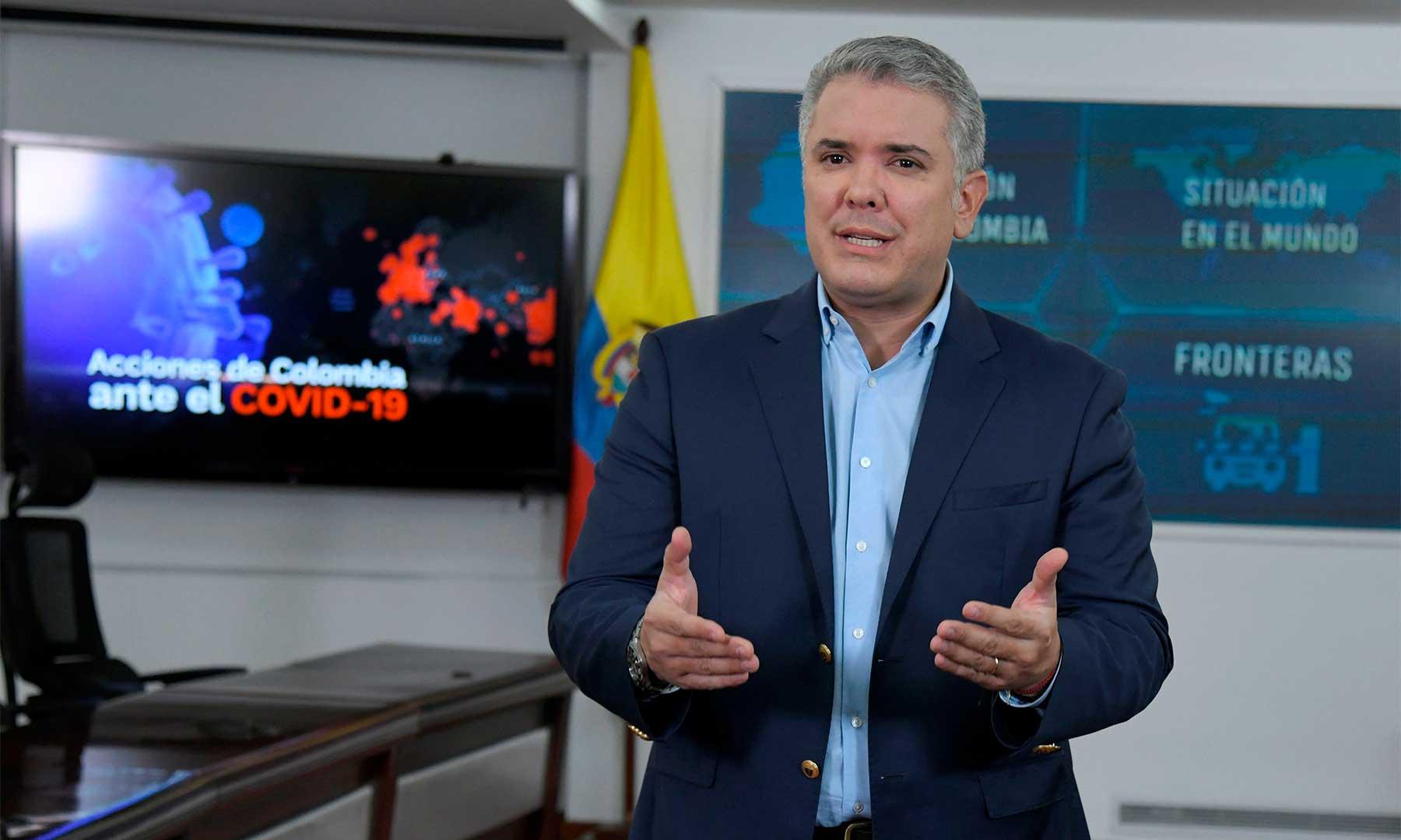 "No podemos estar cerrados de manera indefinida"": presidente Iván ..."