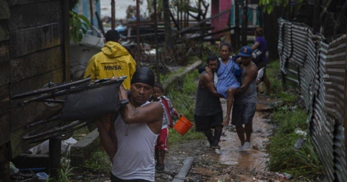 Huracán Iota San Andrés y Providencia (Foto CNN en Español)