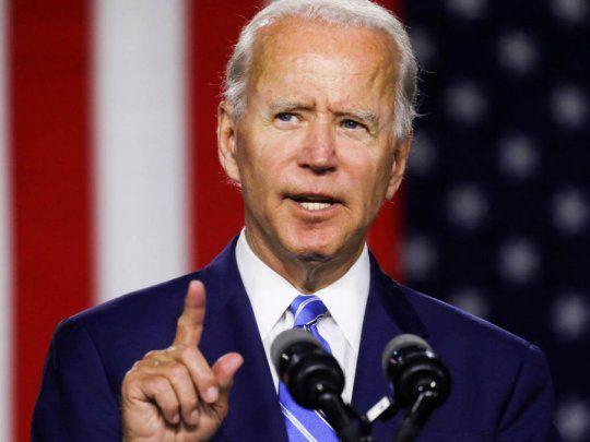 Joe Biden propondrá paquete de salvamento económico por US$1,9 billones
