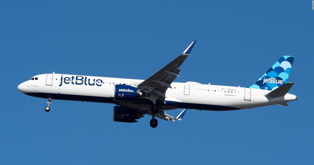 Aerolínea JetBlue Foto CNN