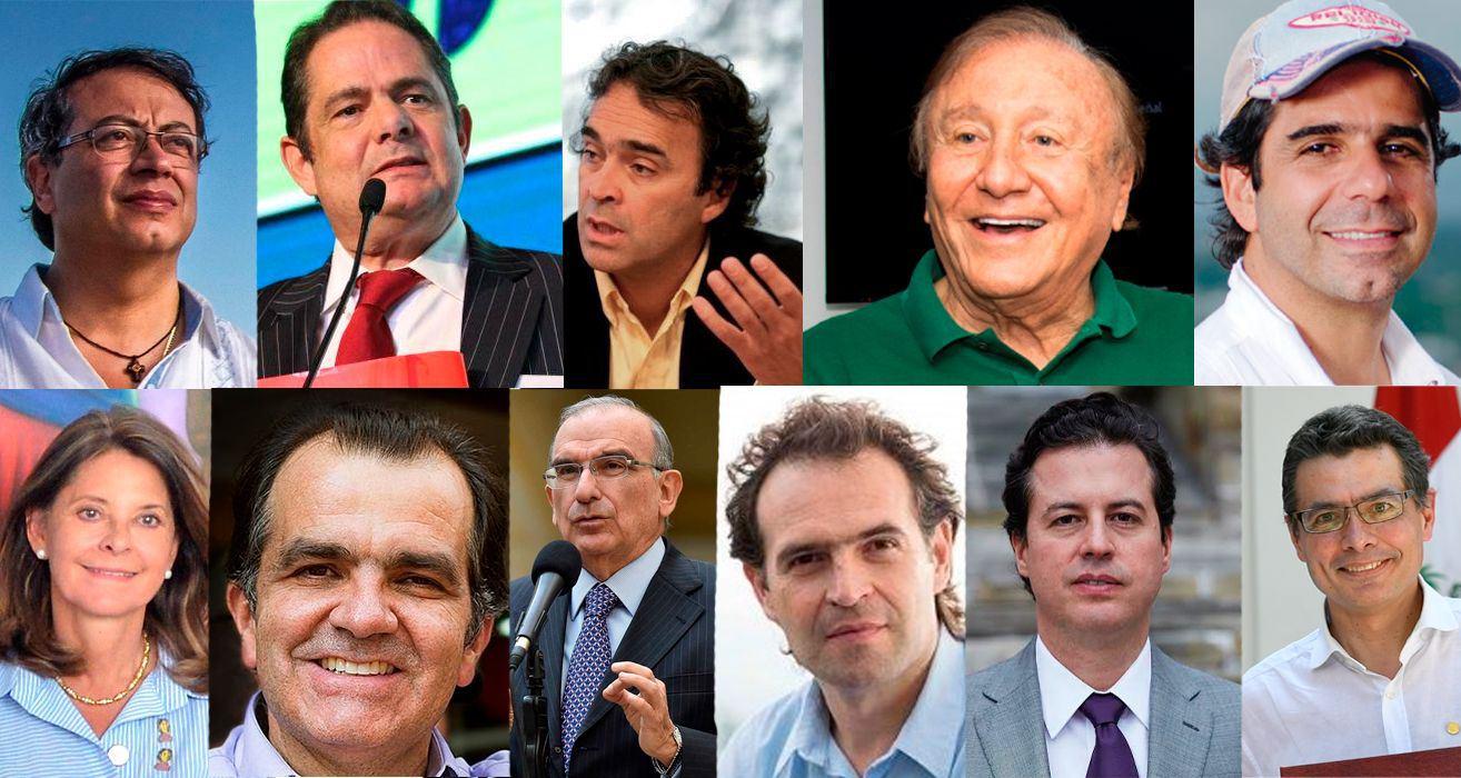 Gustavo Petro, Sergio Fajardo y Alejandro Char lideran encuesta presidencial 2022