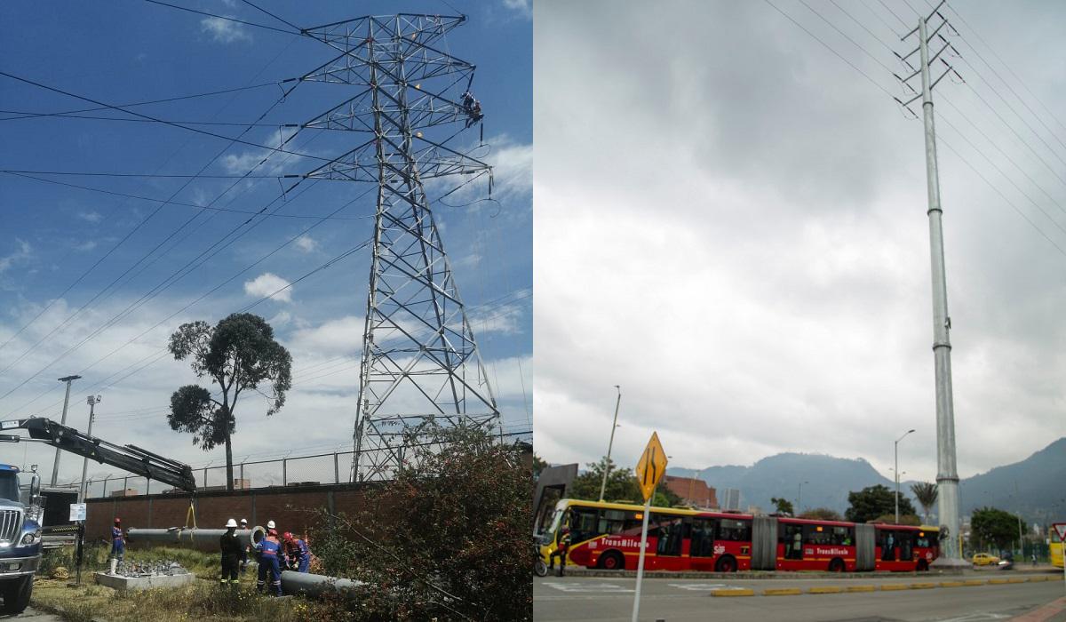 Continúa traslado anticipado de infraestructura eléctrica para Metro de Bogotá