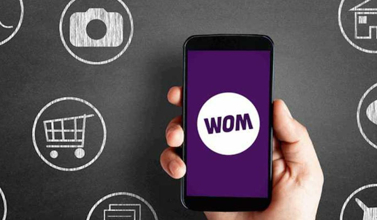 Foto Wom nuevo operador de telefonía celular.