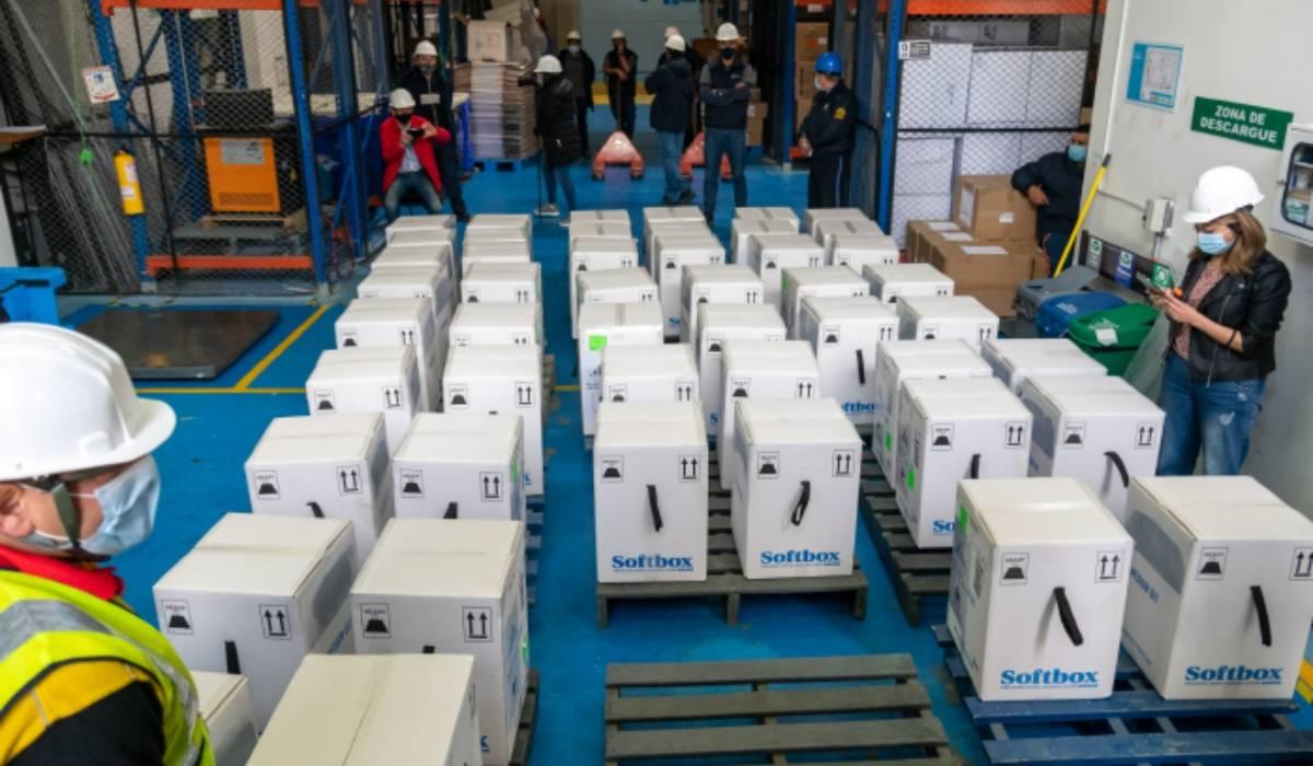 Colombia recibió 280.800 nuevas dosis de Pfizer este sábado 3 de abril