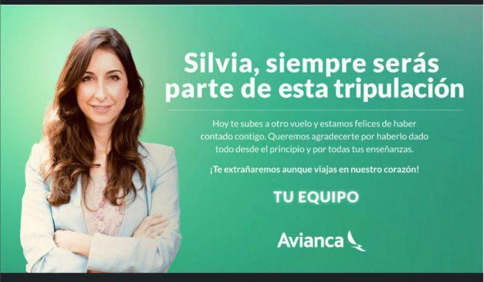 Silvia Mosquera deja Avianca para unirse a portuguesa TAP