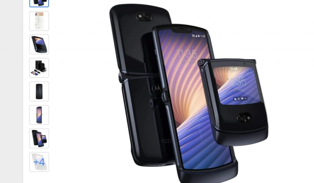 Motorola Rarzr 5G 256GB de RAM