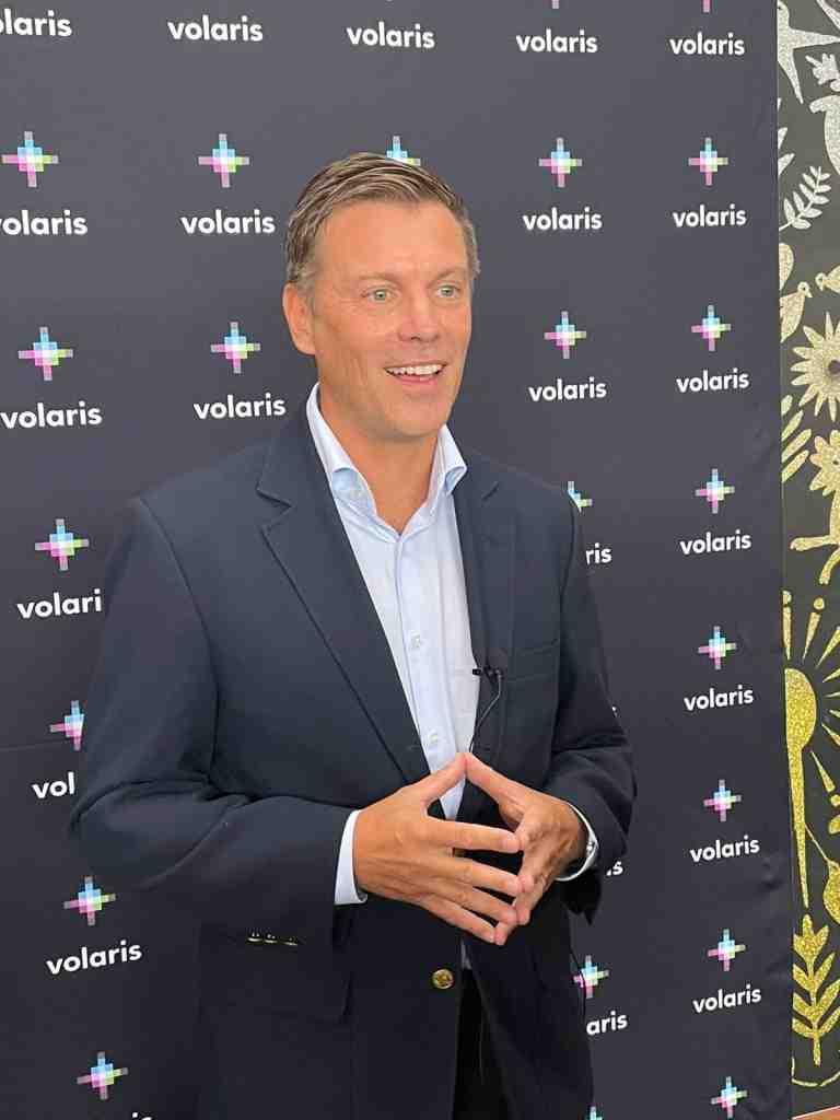 Holger Blankenstein, vicepresidente Ejecutivo de Volaris